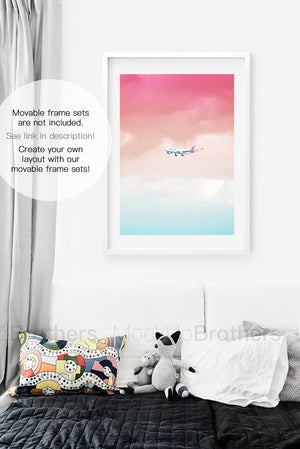 frame mockup for nursery room by Mockup Brothers
