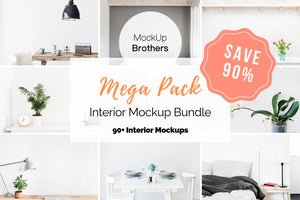interior mockup bundle by Mock Up Brothers