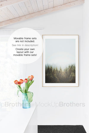 Frame mockup by mock up brothers