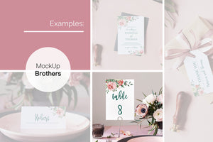Table card mockup W03_22