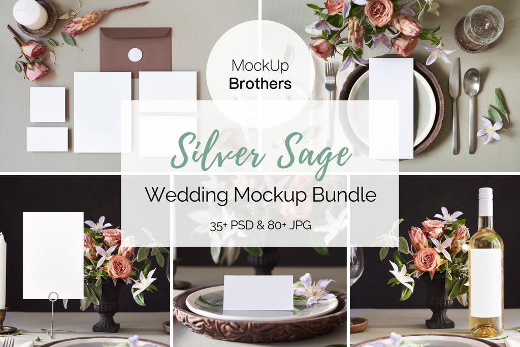 Wedding Mockup Bundle W04