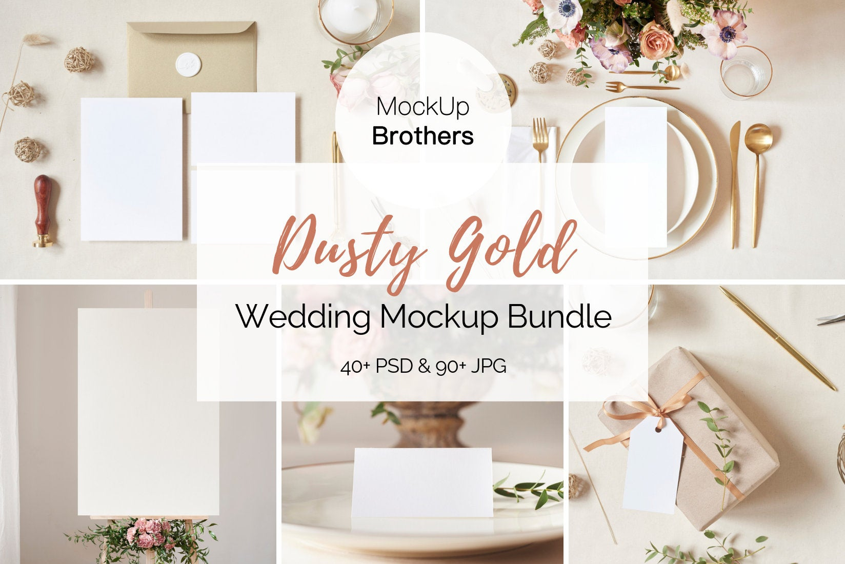Wedding Mockup Bundle W01