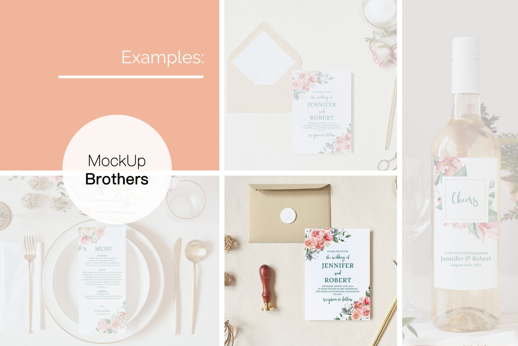 Wedding invitation mockup W01_13