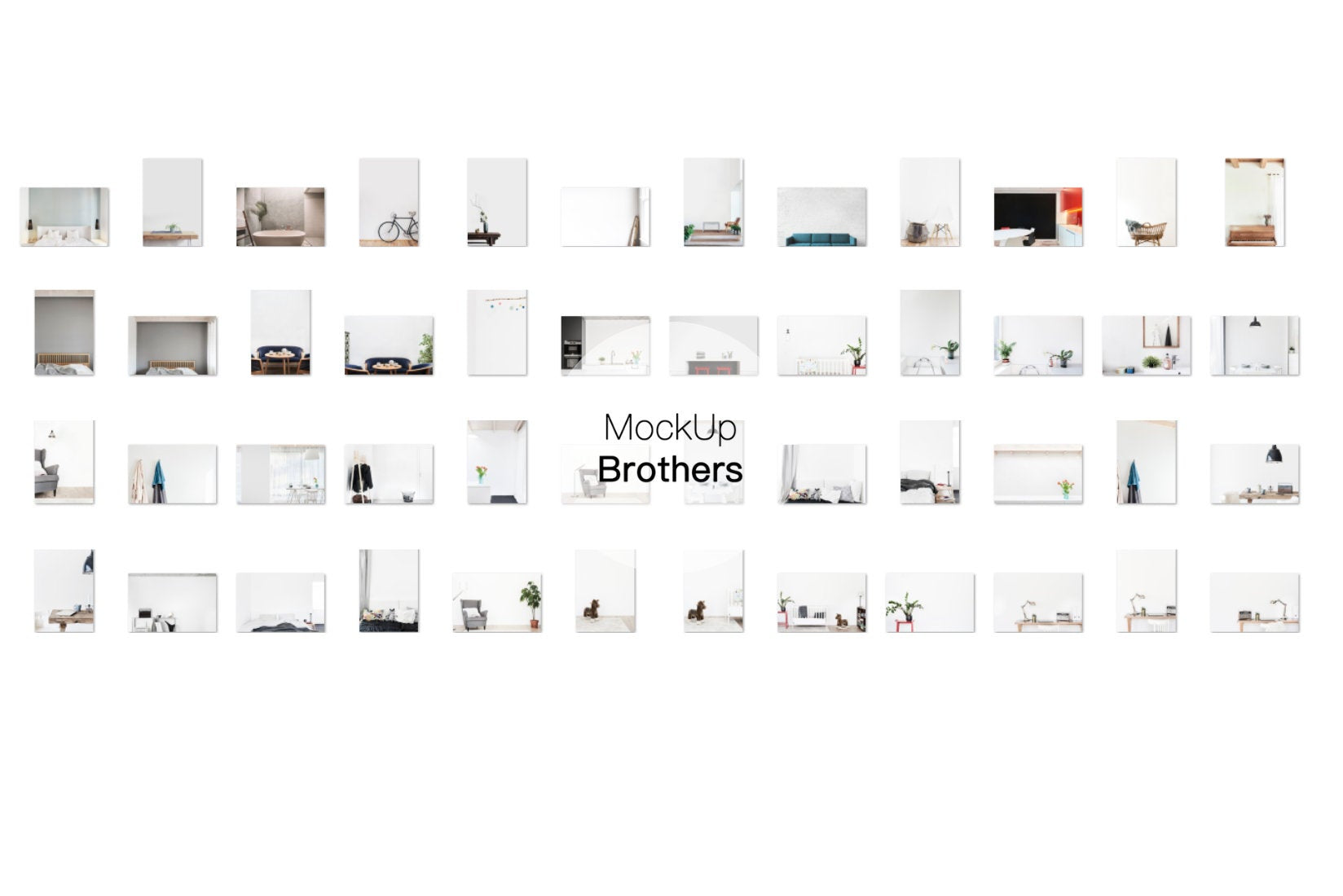 Interior Mockup Bundle Mega Pack