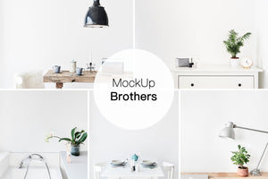Styled interior stock photo bundle pack