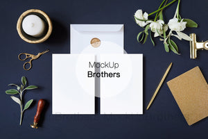 Wedding invitation mockup W02_30