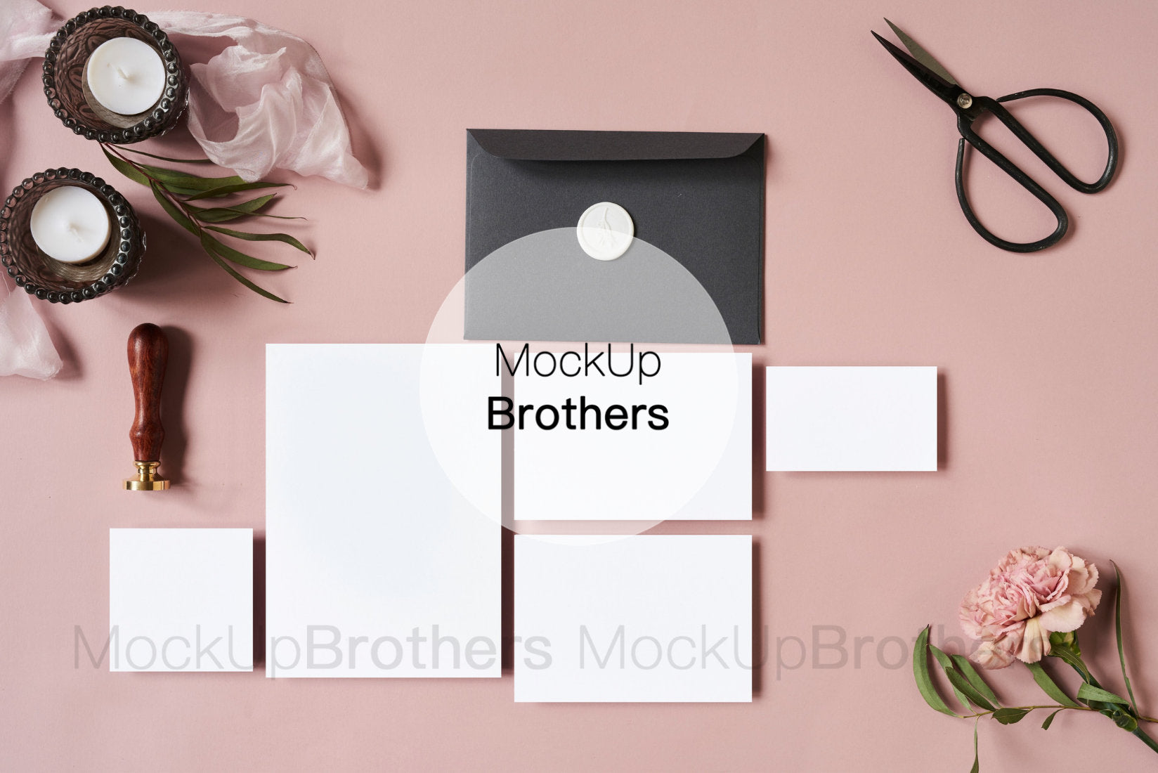Wedding stationery mockup W03_41