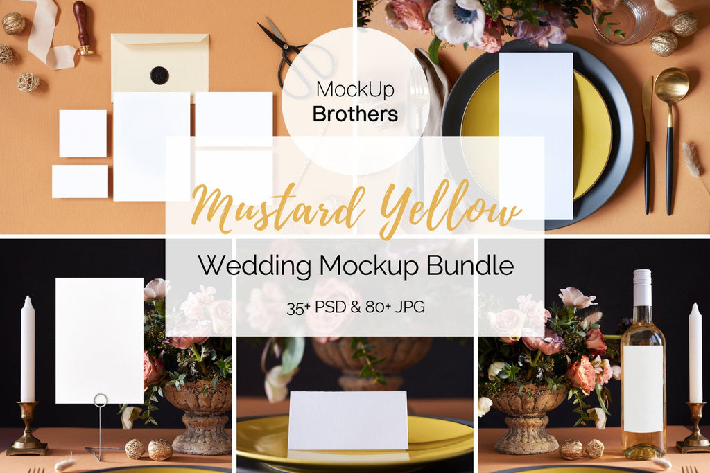 Wedding Mockup Bundle W05