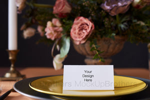 Place card mockup W05_11