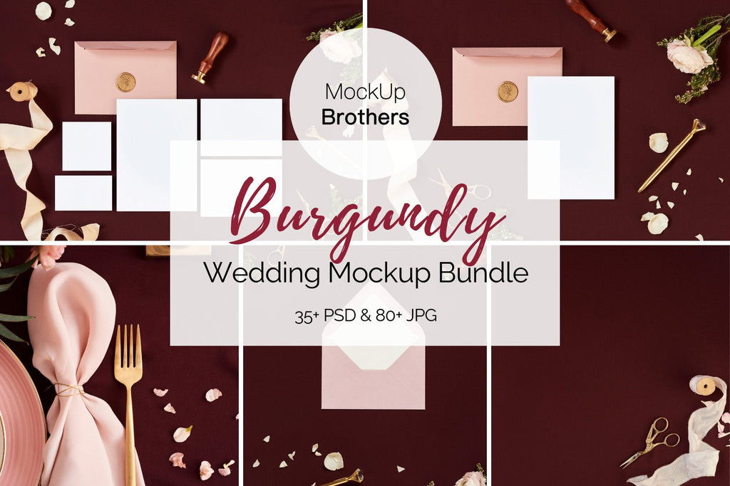 Wedding mockup bundle W06