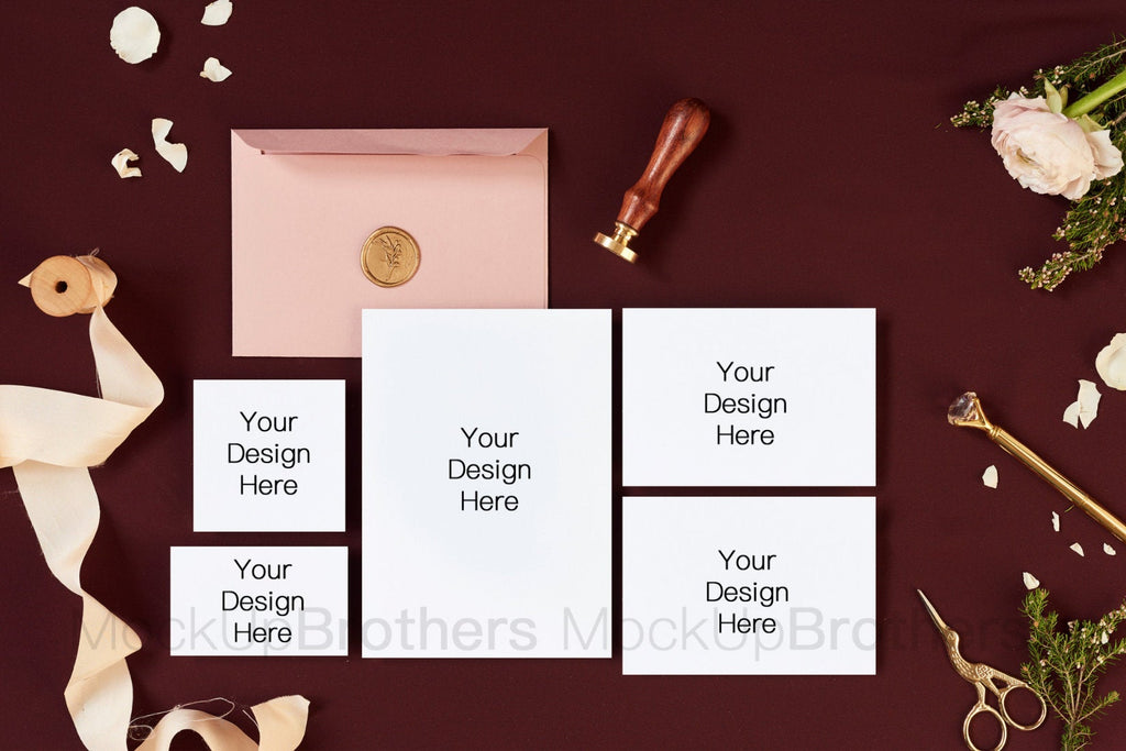 Wedding Stationery Mockup W06_49