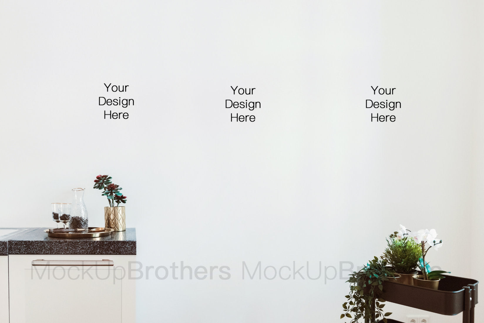 Kitchen interior stock photography by Mockup Brothers