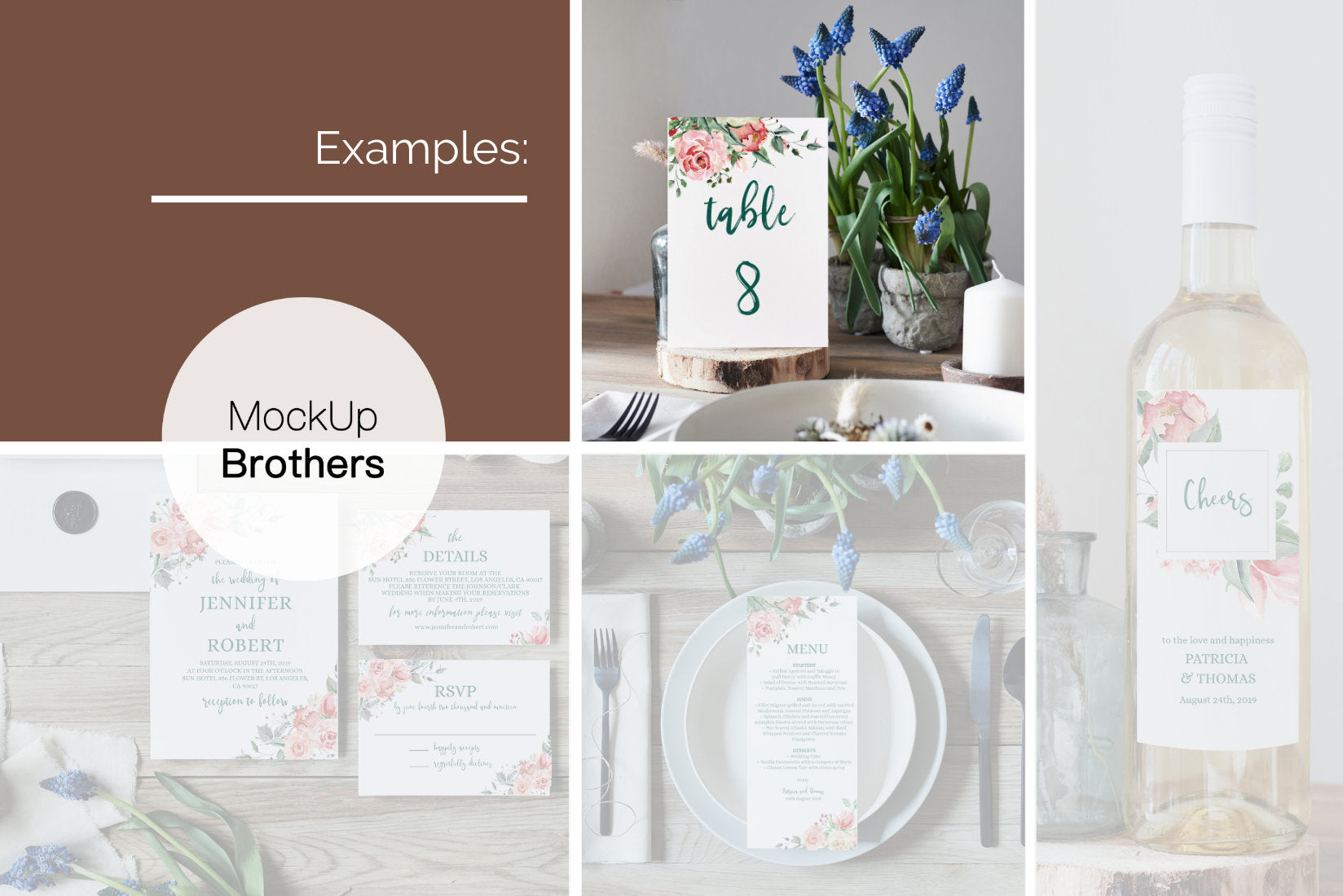 Wedding table number mockup W07_18