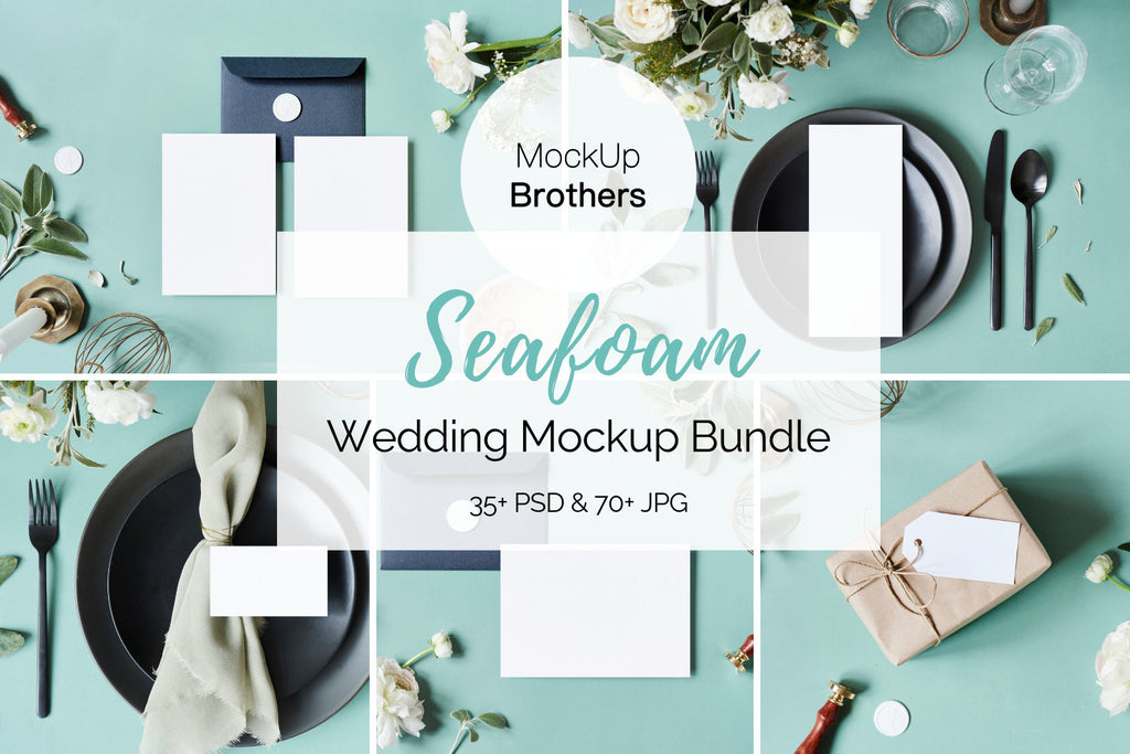 Wedding mockup bundle W08