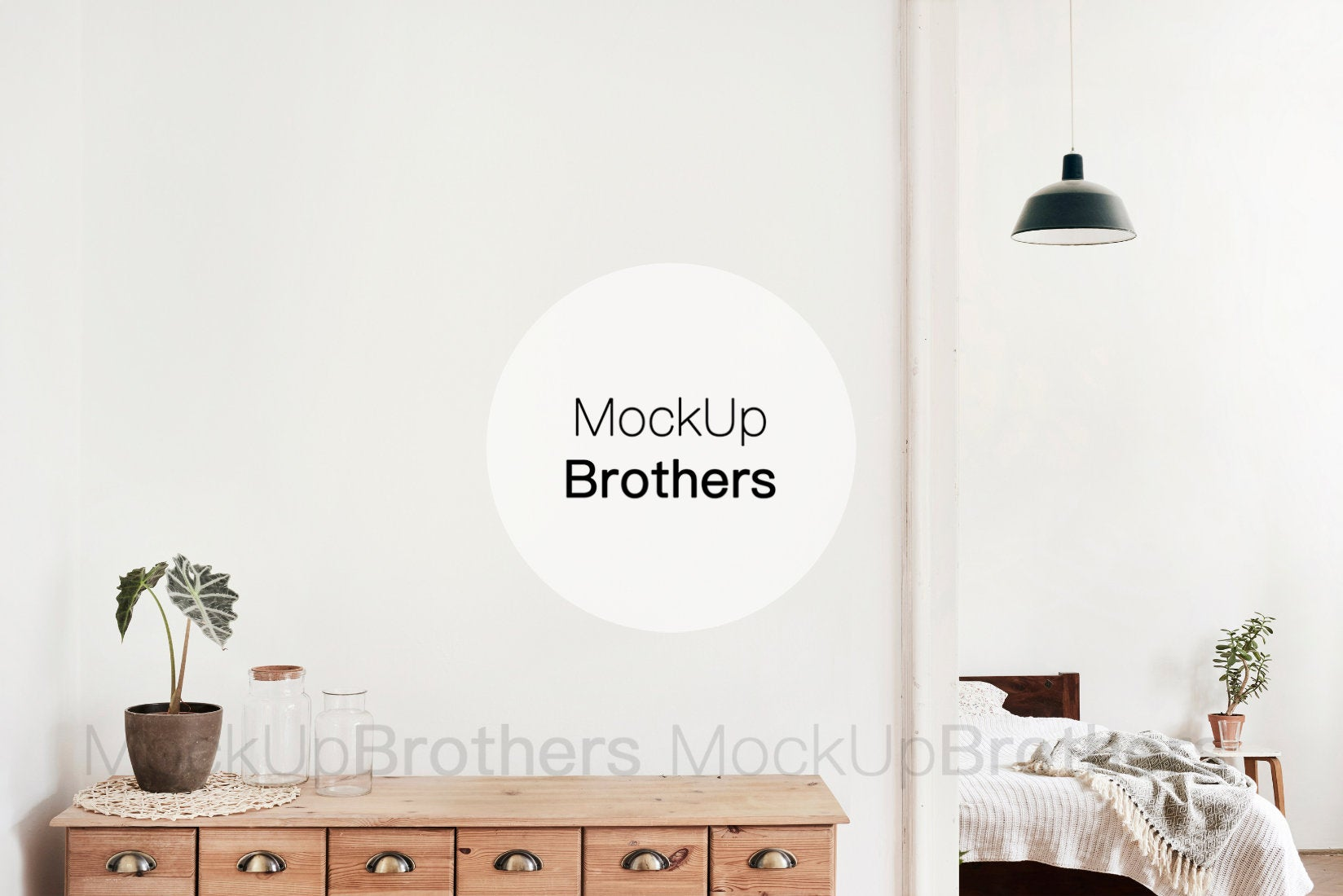 Living room interior stock photo by Mockup Brothers