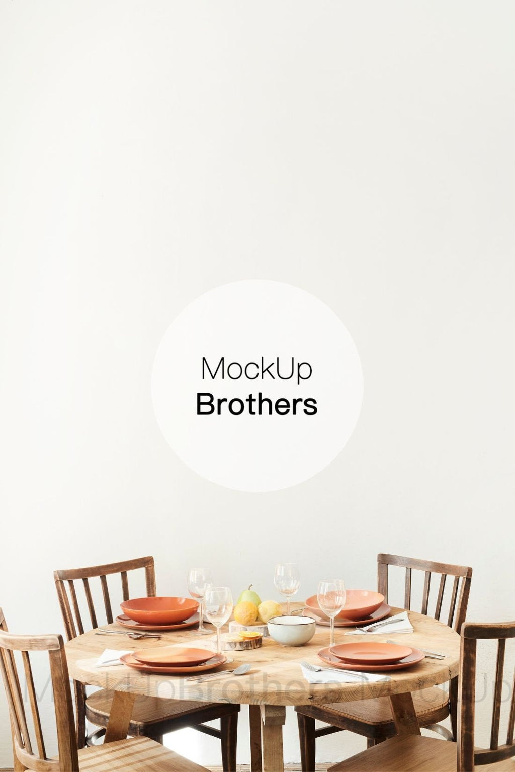 Kitchen wall art mockup by Mockup Brothers