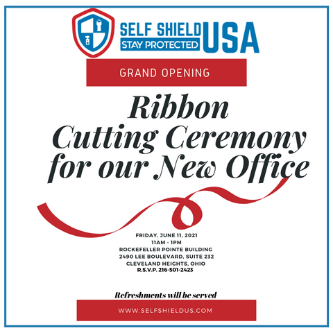 Ribbon Cutting Cleveland Heights Self defense Wholesale Product Vendor