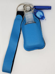 Blue Safety Keychain