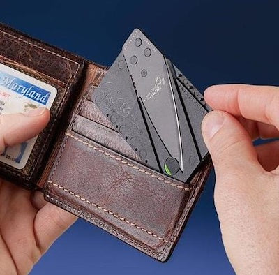 Credit Card Foldable Knife