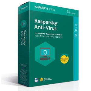 code d'activation Kaspersky Antivirus 2019 (5PC/1an) - CodeKey Activation