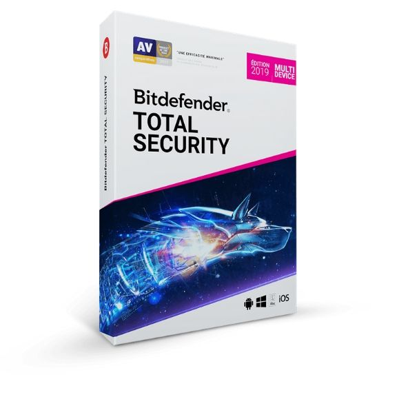 code d'activation BitDefender Total Security Multi Device (1an) - CodeKey Activation