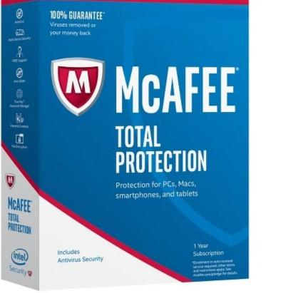 Code d'activation McAfee Total Protection 2019 (1Appaeil/1an) - CodeKey Activation