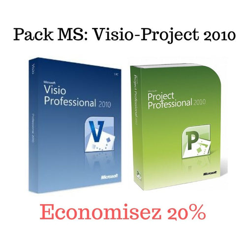 Pack MS Visio et MS Project 2010 - CodeKey Activation
