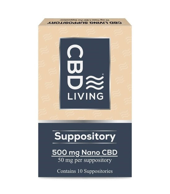 CBD Living Suppository 10ct
