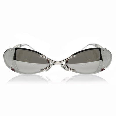 DAVID KOMA x CHRISHABANA The Sliver Sunglasses Silver / Mirror