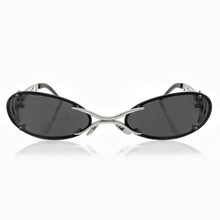 Load image into Gallery viewer, DAVID KOMA x CHRISHABANA The Sliver Sunglasses Silver / Black