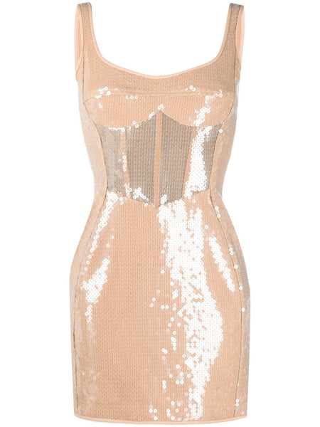 Sequins mini dress