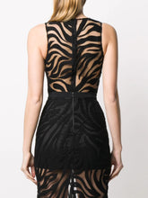 Load image into Gallery viewer, Macramé sleeveless bodysuit