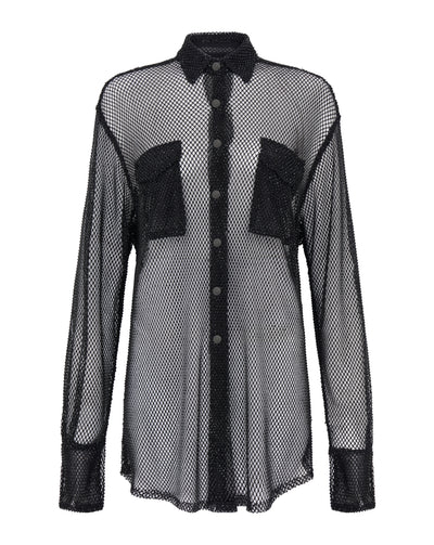 Crystal Mesh Shirt