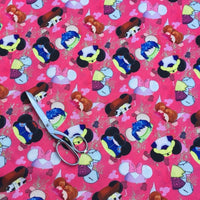 Pink Hats Cloth Diaper - Made to Order