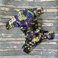 Magic School Bus Cloth Diaper - Made to Order