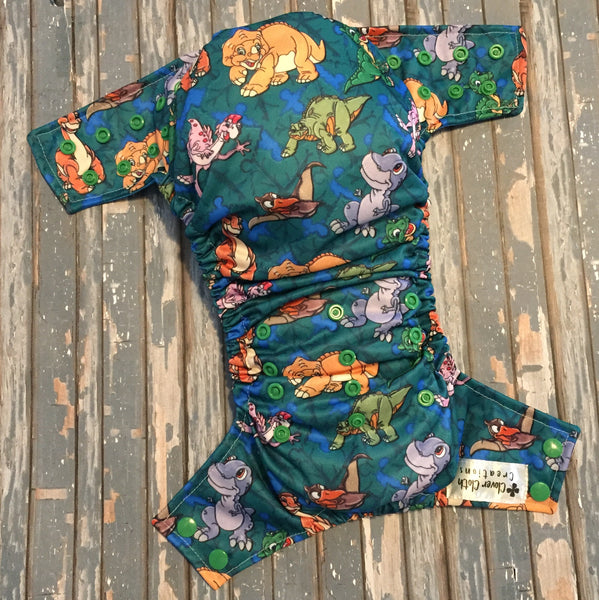 Land Before Time Cloth Diaper - Made to Order