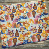 Bubble Guppies Cloth Diaper - Made to Order