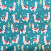 Llamas Cloth Diaper - Made to Order