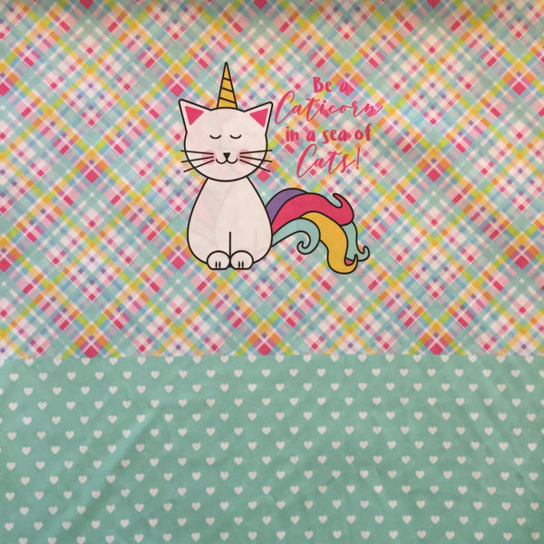 Caticorn Cloth Diaper - Made to Order