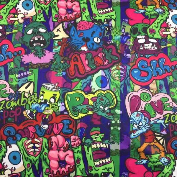 Zombie Cloth Diaper - Made to Order