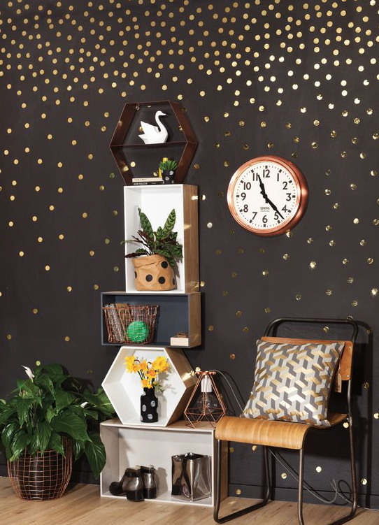 Metallic Home Accessories From Colour Decor