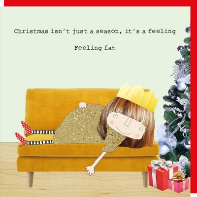 Christmas Card - Feeling Fat