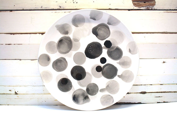 Black Spot Platter by Kaz