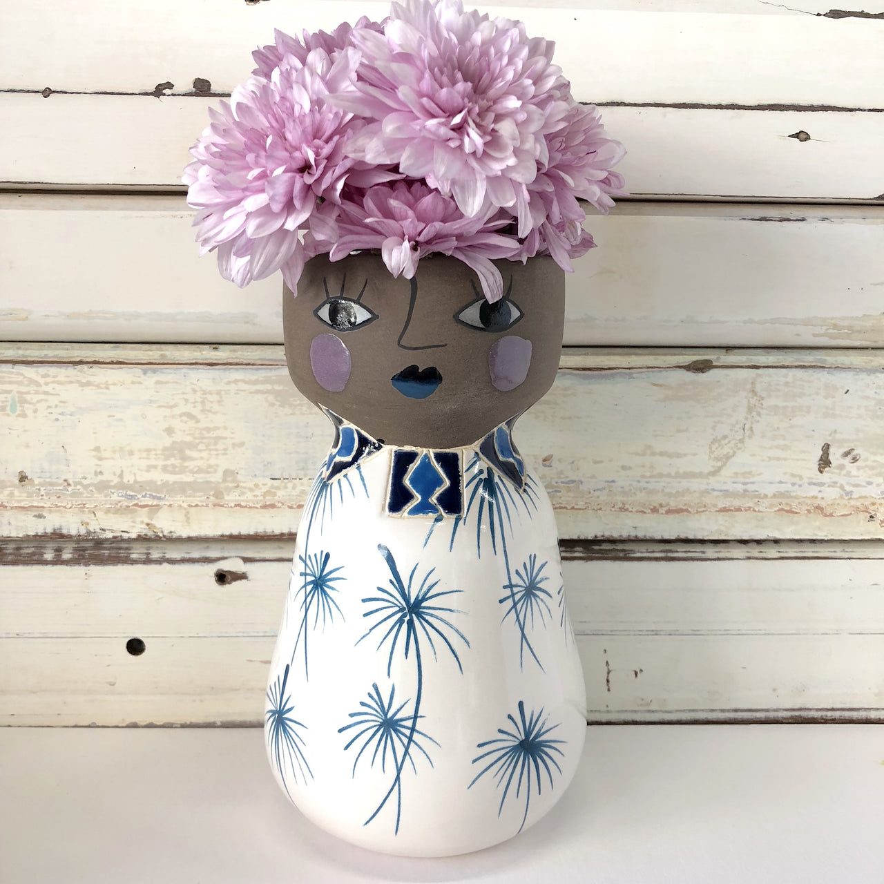 Miss Lola Face Vase - Jones & Co