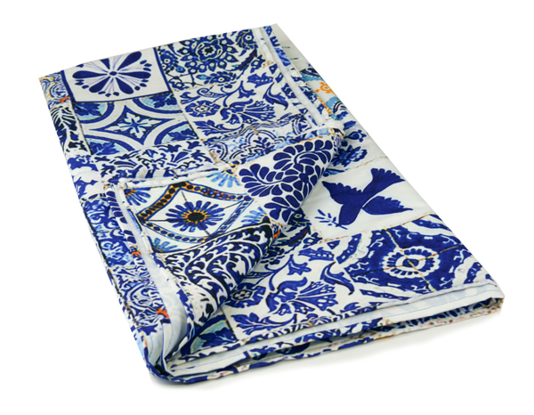 Anna Chandler Tablecloth - Spanish Tile