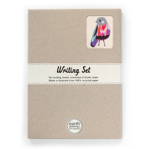 Writing Set - Rose Robin