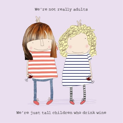 Tall Children Card