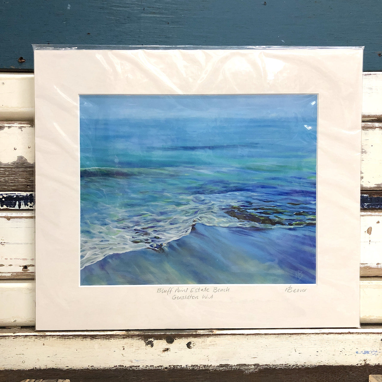 Bluff Point Estate Beach Art Print