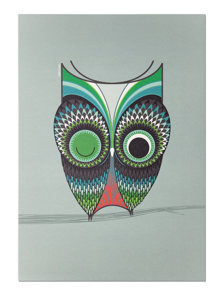 Wise Owl A3 Print