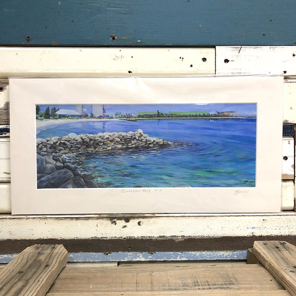Geraldton Port Art Print